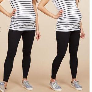 Motherhood Maternity Navy leggings. Size L